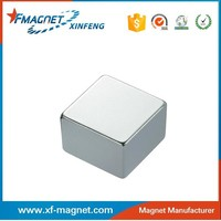 Strong Power High Grade N52 Square Magnets Form China Manufacture