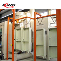 aluminum extrusion edge profile automatic powder coating line system