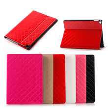 "2015 new model for ipad pro 12.9"" leather stand case smooth skin, tablet case cover for ipad"