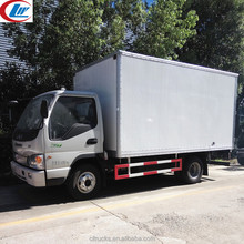 China brand new JAC 4x2 5ton delivery van prices