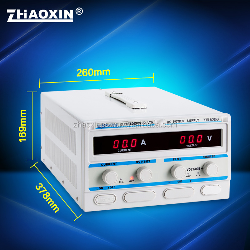 KXN-6060D Zhaoxin High power switching dc power supply with CE approved