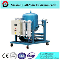 100L/min movable waste transformer oil purifier machine