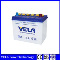 12v Dry Charged Jis Car Battery NS70 65Ah Heavy Duty car battery and truck