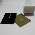 Luxury Suede jewelry Package Envelope velvet gift pouches