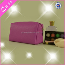 2015 fashion design lady pvc mini cosmetic bag with zipper