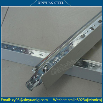 Reasonable Price and Variety Sizes of Ceiling T Bar, Professional T Bar Manufacturer in China