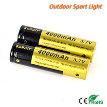 3.7v 4000MAH 18650 Lithium ion Battery