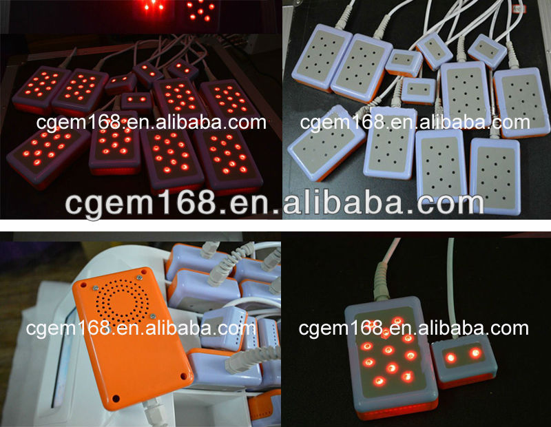 CG-813 12pads 650nm 830nm laser diode for salon use