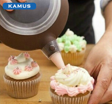 Kamus Brand Plastic tip Pastry icing nozzles disposable piping pastry bag Cake Decorating