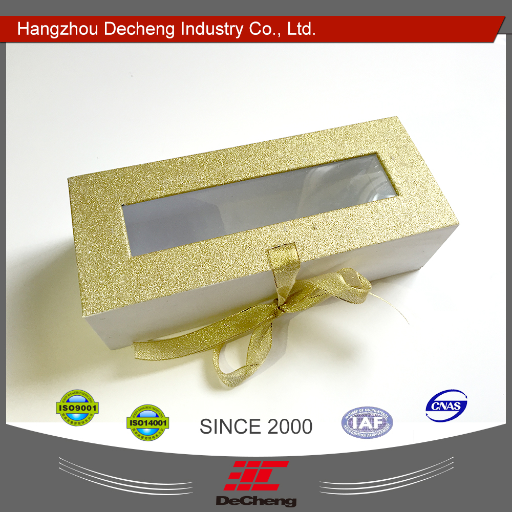 Wholesale beautiful custom color paper box