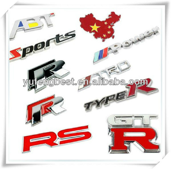 car abs emblem badges