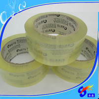 Single Sided Adhesive Side and BOPP material sealing packing tape logo