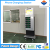 Free standing Hot Point Wifi mobile phone charging station with card reader APC-06B