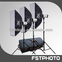 Hot Sale Photograph Strobe Lighting Kit For Studio Flash Using