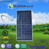 Bluesun good quality largest solar panel 600w polycrystalline pv solar panel