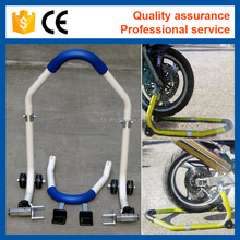 Narrow and Adjustable Motorcycle Accessory Rear Wheel Stand Lift Stand Repair Paddock Stand