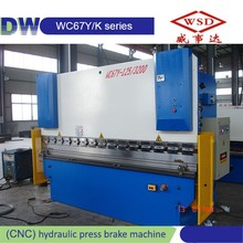High Efficiency WC67Y-300/6000 mini press brake with cheap price
