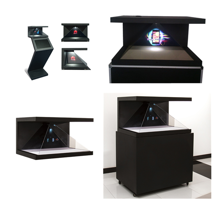 China Supplier sales competitive price Virtual Projection 270 Degree pyramid 3d holographic display