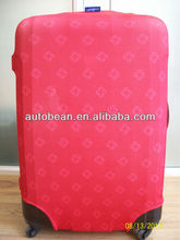 spandex luggage cover,customer design available,clear luggage cover