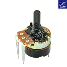 mini potentiometer with switch