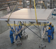 Frame Structure Concrete Pouring Formwork Aluminium Table Form