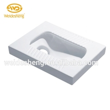 Factory price squat toilet, fashion ceramic pan, floor mounted toilet pan