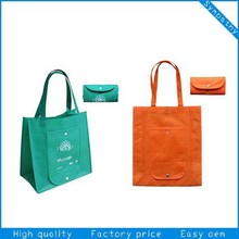 Dongguan HOMEY premium durable foldable shopping nonwoven tote bag with custom printing for shopping