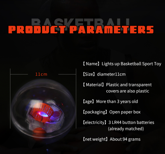 New trend product mini basketball toy ABS PS PP plastic hand basketball kid toy