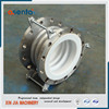 flanged ptfe teflon expansion joint compensator for pipe fitting