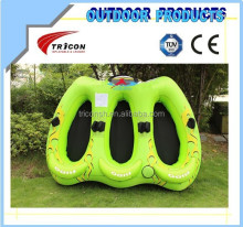 new design 3 person towable tube