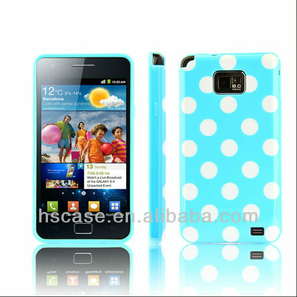 Polka Dots Soft Silicone Case Cover For Samsung Galaxy S3 i9300