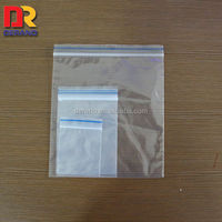 China Supplier Wholesale LDPE Clear Plastic Zipper Cosmetic Bags