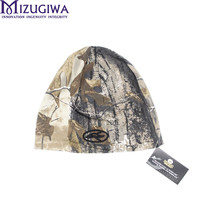 Mizugiwa hunting camo beanie cap in Realtree Winter Fleece Plush Hat 100% Cotton and Finehair For Outdoor