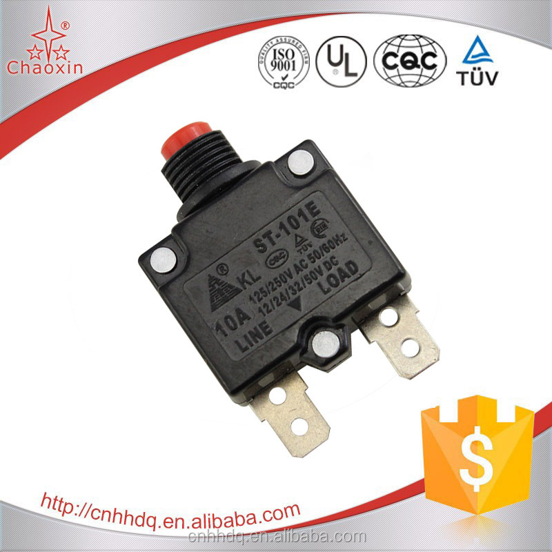 Factory Selling Wholesale Manual Reset Push Button Thermal Circuit Breakers