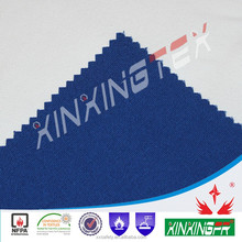 EN11611 certificate 320 gram 60% cotton 40% polyeter 100 times washing safety anti-flame fabric yard for protective uniform
