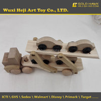 New wooden car crafts decoration with ICTI