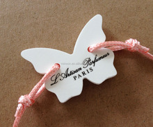 Spring butterfly scented plaster ceramic aroma stone car air freshener