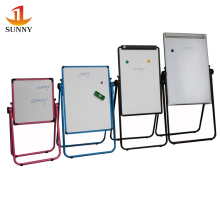 Wholesales moblie foldable whiteboard with stand for kids