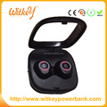 Stereo earphones headset handsfree earbuds with charging box