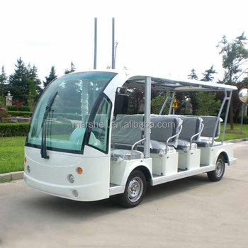 11 seater electric sightseeing vehicle with CE(DN-11)