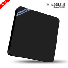 2017 newest S905X MINIM8SII Android 6.0 Smart TV Box Amlogic S905X TV Box