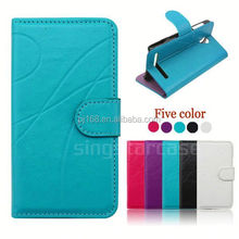 Online wholesale phone case accessory for Karbonn A21,folio cover case for Karbonn A21