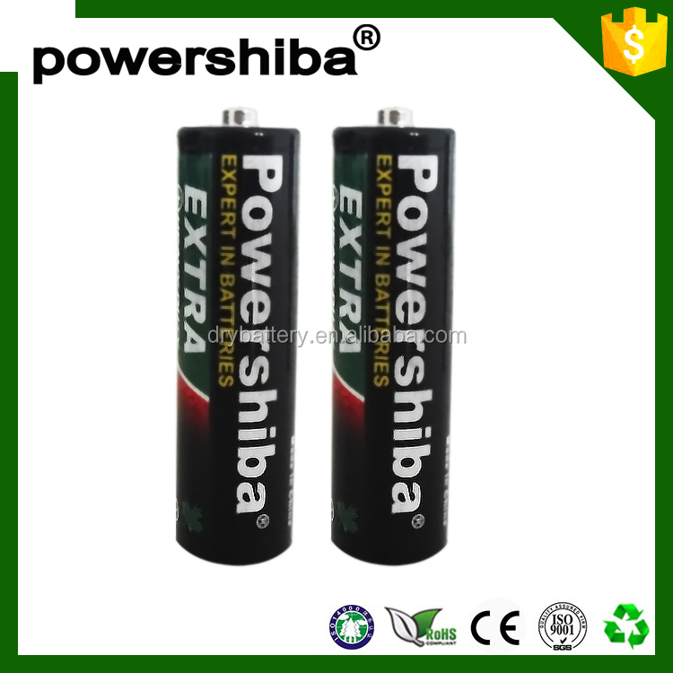 1.5v r6p um3 aa size battery /dry cell rechargeable battery