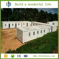 China prefabricated homes container homes for temporary office and accommodation