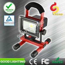 Goodlighting 10W led portable work light IP65 rechargeable blue point led work light