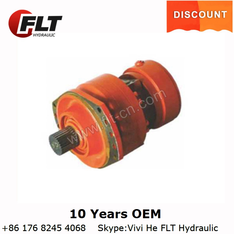 9 years no complaint MCR MS Hydraulic radial Piston Motor