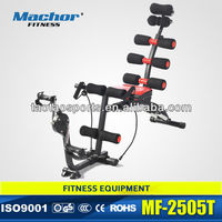six pack care J-toner total core with bicycle multifunction lose weight exercise trainer as seen on TV MF-2505T
