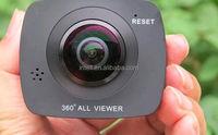 360 Sport Action Camera VR 360 Degree camera Dual-lens Panoramic VR Camera