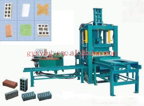 Interlocking paving stone production line!high hydraulic pressure 200t paver brick machine HY150K