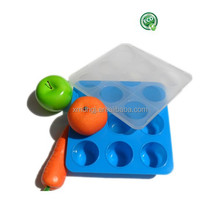 BPA free food silicone Baby Food frozen tray